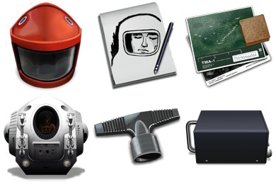 2001 Space Odyssey Icons