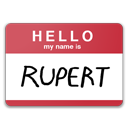 Hello My Name Is Rupert icon