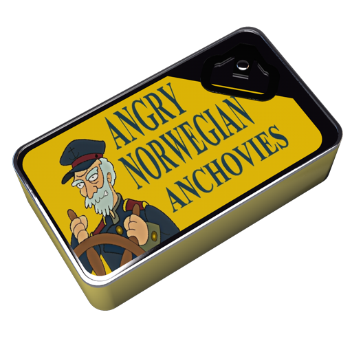 Futurama-Angry-Norwegian-Anchovies icon
