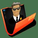 Folder Blank sample icon