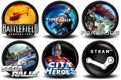 Mega Games Pack 05 Icons