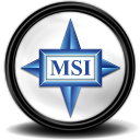 MSI Grafikcard Tray icon