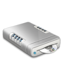 CD drive dark icon