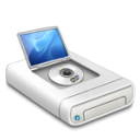 DVD drive alternative 2 icon