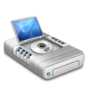 DVD drive alternative dark 2 icon