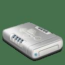 USB drive dark icon