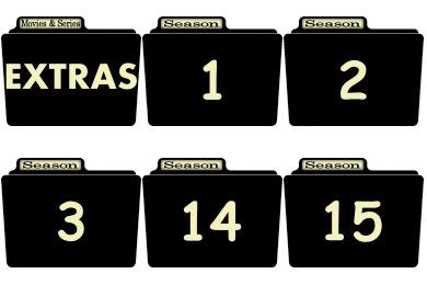 Series Season Folder Icons