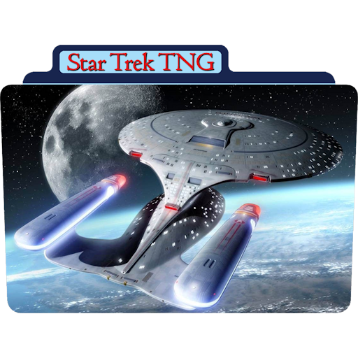 Star Trek The Next Generation 5 icon