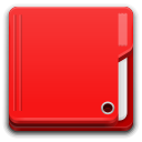 Places folder red icon