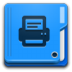 Places-folder-print icon