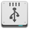 Devices-drive-removable-media-usb-pendrive icon