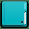 Places-folder-cyan icon