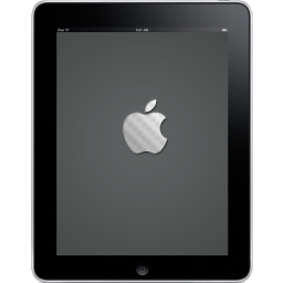 iPad Front Apple Logo icon