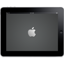 iPad Landscape Apple Logo icon