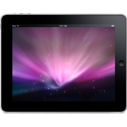 iPad Landscape Space Background icon