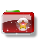 Christmas Folder Star 4 icon