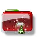 Christmas Folder Tree Stars icon