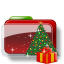 Christmas Folder Tree Gift icon
