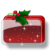 Christmas-Folder-Holly-Stars icon