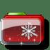 Christmas-Folder-Snow-Stars icon