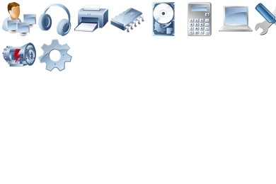 Desktop Device Icons