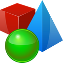 D objects icon