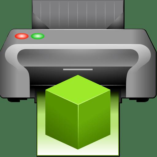 Free 3D Printer Iconset