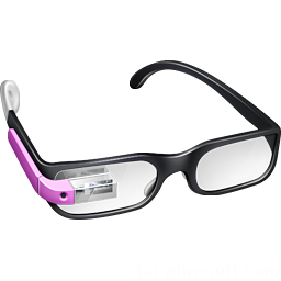 Girl Google Glasses icon
