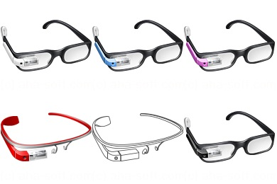 Google Glass Icons