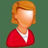 Caucasian-Female-Boss icon