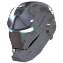 Ironman-Mask-2-Silver icon