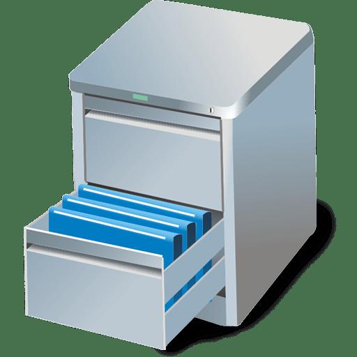 Card file icon