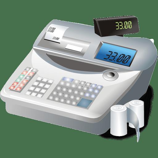 Cash-register icon