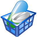 Drug-basket icon