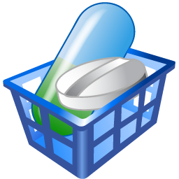 Drug basket icon