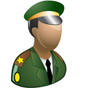 Army-officer icon