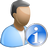 User info icon