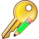 Modify key icon