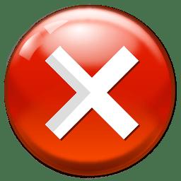 Cancel Icon Software Iconset Aha Soft
