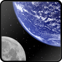 Earth and Moon icon