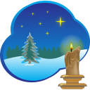 Christmas picture icon