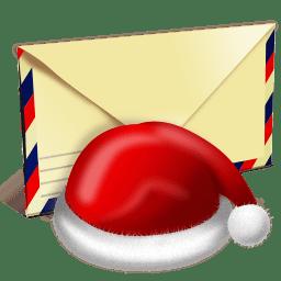 Santa letter icon