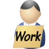 Unemployed icon