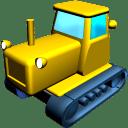 Catterpillar tractor icon