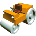 Road roler icon