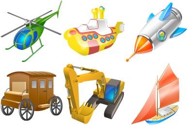 Transport For Vista Icons