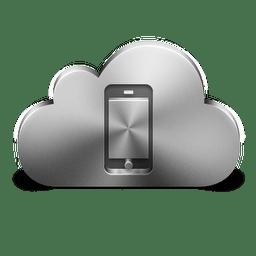 Mobile Device Silver icon