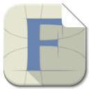 Apps File Font icon