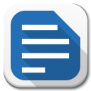 Apps Libreoffice Writer B icon