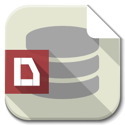 Apps File Db Icon Flatwoken Iconset Alecive